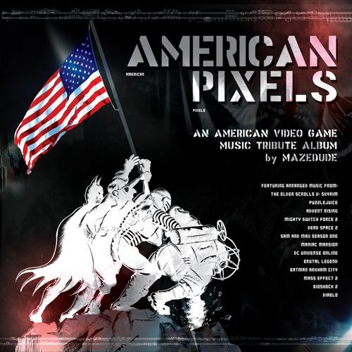 American Pixels, by Mazedude